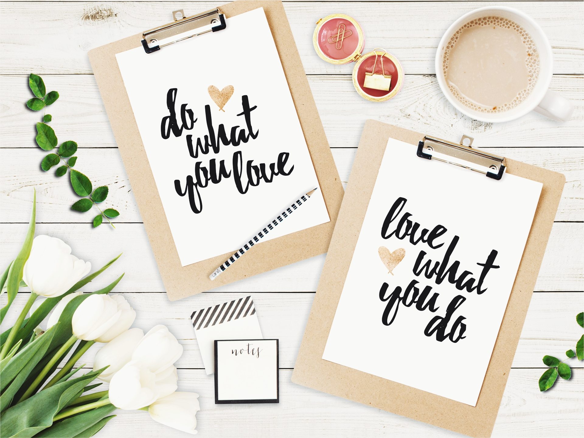 Do What You Love Free Printables
