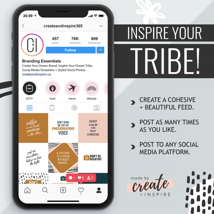 Instagram Quotes Canva Template